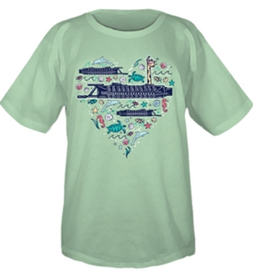 Hunley Heart Youth T-Shirt - ON SALE!
