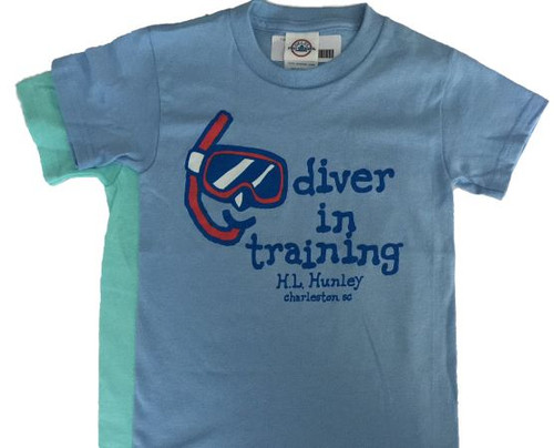 Diver in Training Youth T-Shirt - ON SALE!
