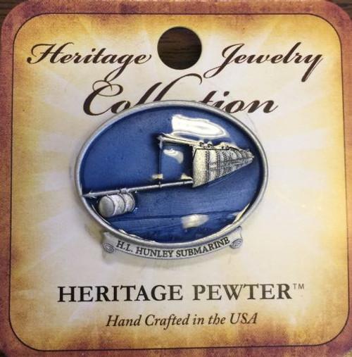Heritage Pewter Lapel Pin