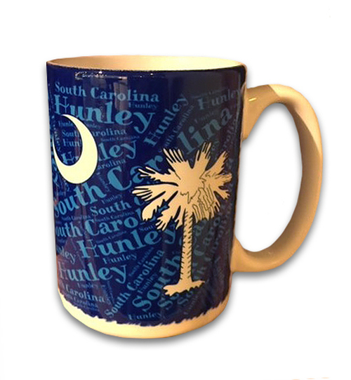 SC Palm and Crescent Mug
