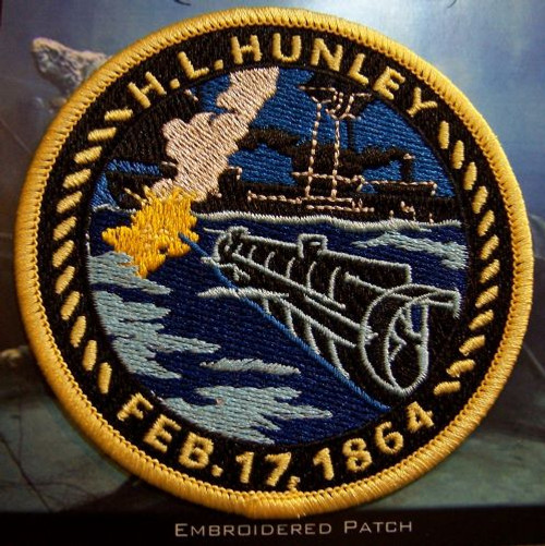 Hunley and Housatonic Explosion Patch
