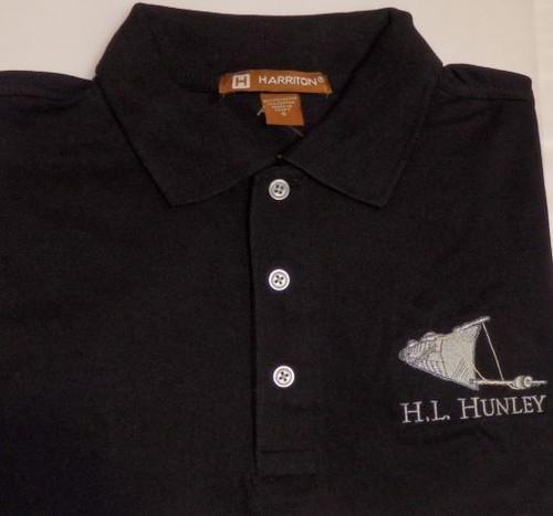 H.L. Hunley Polo (Black)