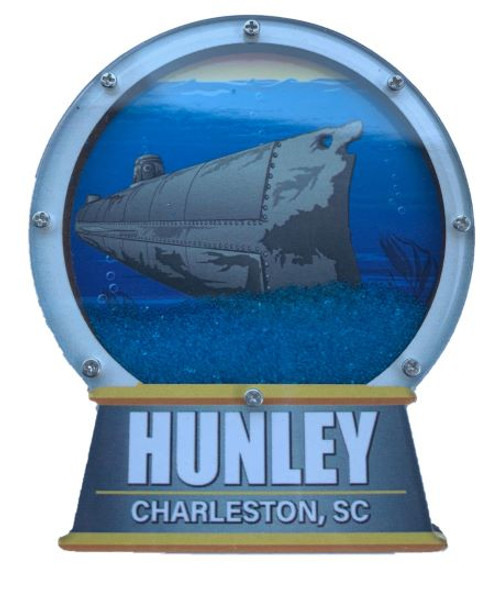 Hunley Globe with Sand Magnet