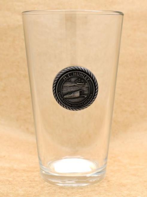 Hunley Pint Glass (ON SALE!)