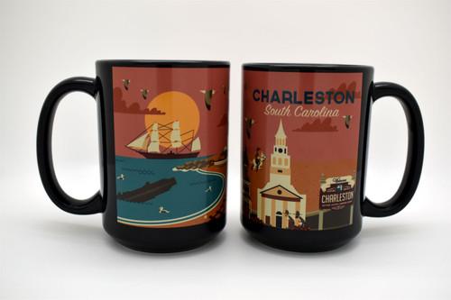 Hunley Charleston Mug