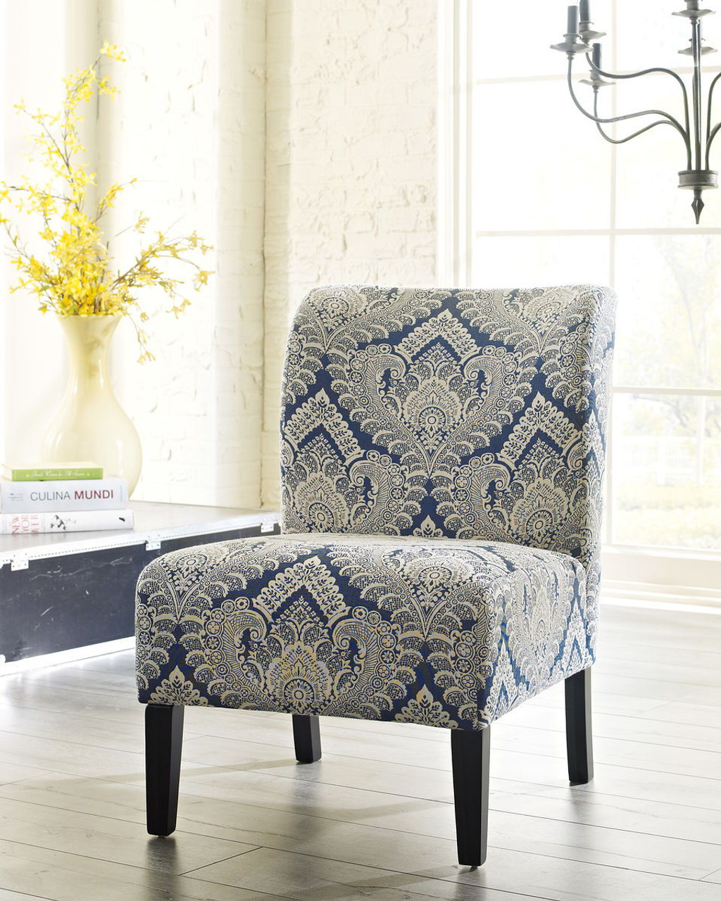 Prime The Honnally Sapphire Accent Chair Available At Ritz Bralicious Painted Fabric Chair Ideas Braliciousco
