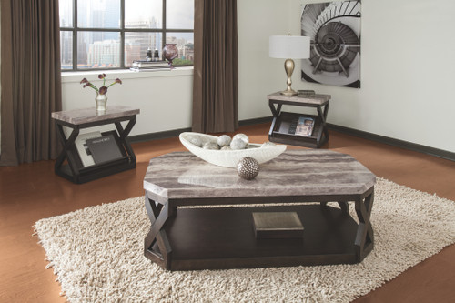 -Ashley T568 3pc Coffee table Set  - On Sale