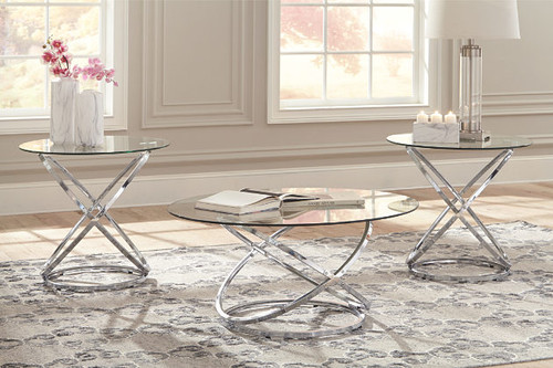 - Ashley T270 3pc Coffee Table Set