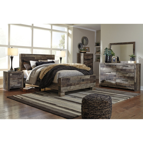 -Ashley B200 Derekson Double Panel Bed Only
