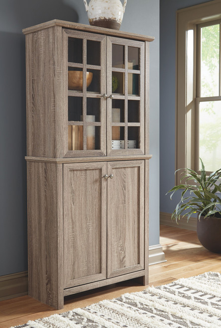 Drewmore Gray Accent Cabinet