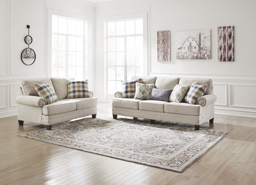 Meggett Linen Sofa & Loveseat
