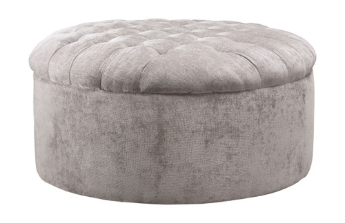 Carnaby Dove Oversized Accent Ottoman
