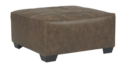 Abalone Chocolate Oversized Accent Ottoman