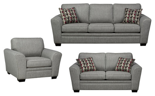-Made in Canada Fabric Sofa only  - On Sale