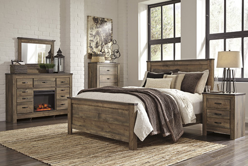 -Ashley B446 Queen Panel Bed Only  -On Sale