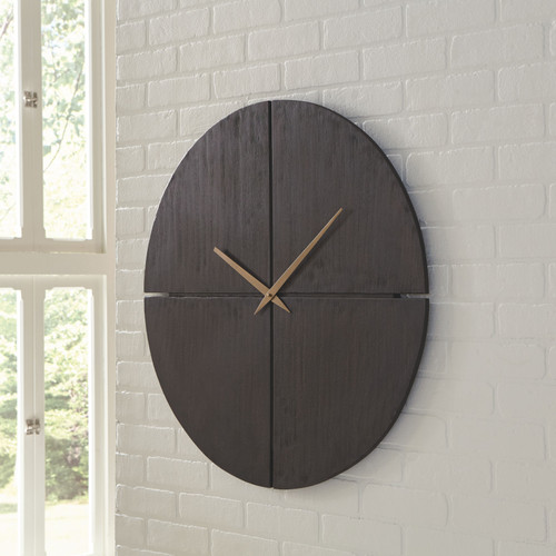Pabla Black Wall Clock