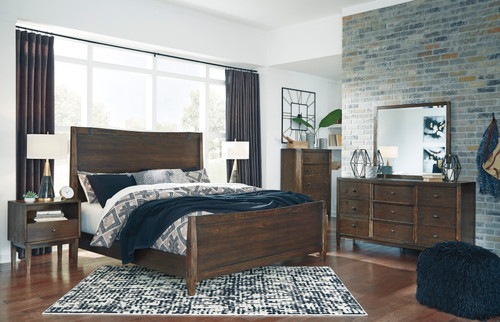 -Ashley B513 Kisper Queen Panel Bed Only