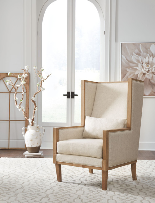 Avila Linen Accent Chair