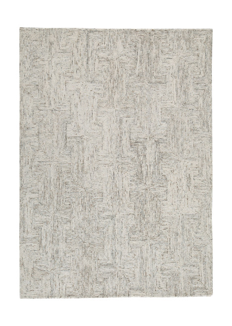 Caronwell Ivory/Brown/Gray Large Rug