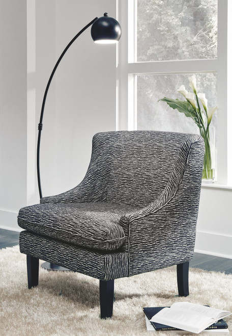 Byrams Black/Cream Accent Chair