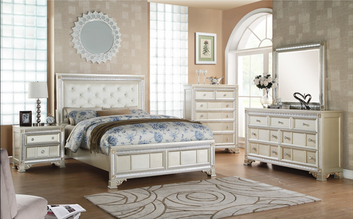 - Glamour Belmont Queen Size Bed Only