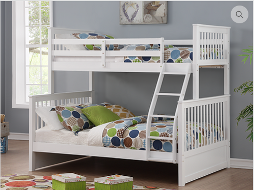 -Single / Double Bunk Bed with Ladder