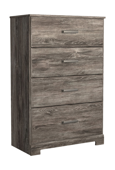 Ralinksi Gray Four Drawer Chest