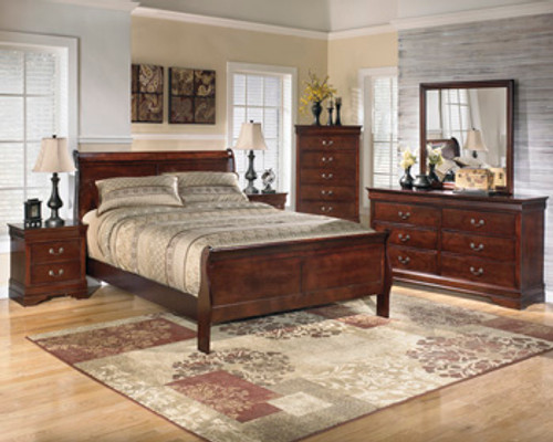 -Ashley B376 Queen Sleigh Bed Only