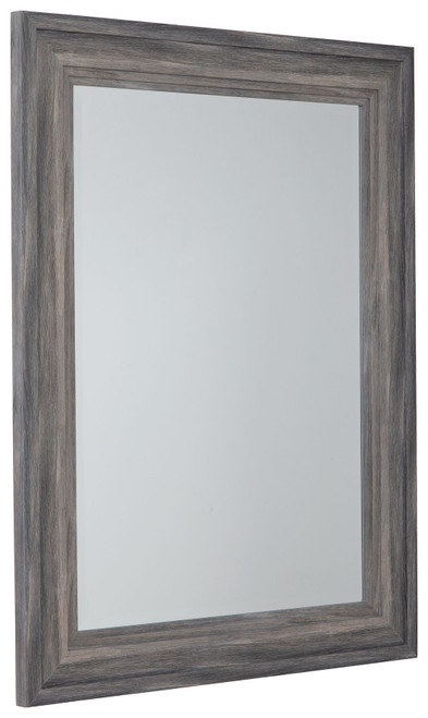 jACEE Antique Gray Accent Mirror