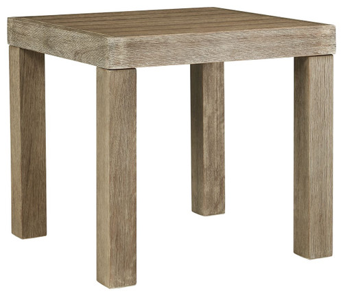Silo Point Brown Square End Table