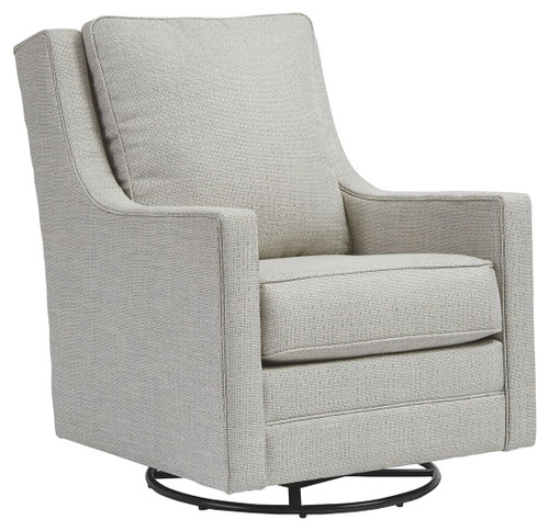 Kambria Frost Swivel Glider Accent Chair