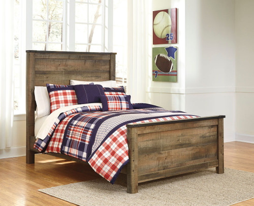 Trinell Brown Full Panel Bed