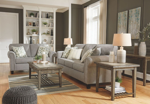Alandari Gray Sofa & Loveseat