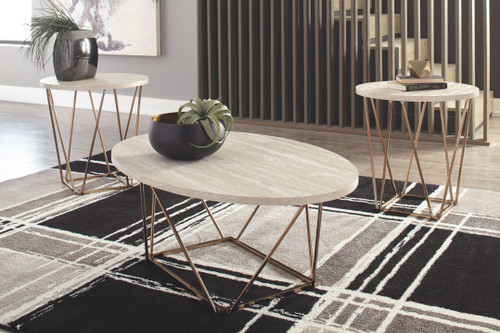 Tarica Two-tone Occasional Table Set (3/CN)