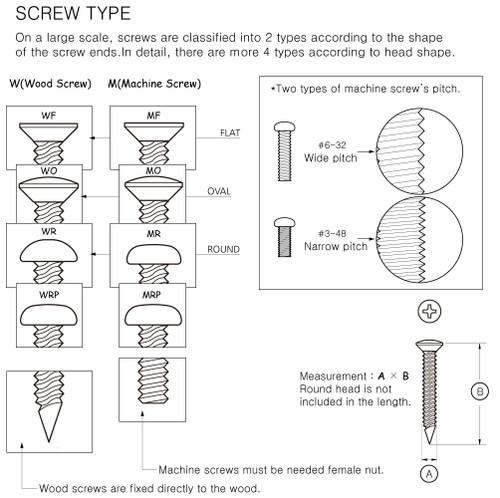 Machinehead Mount Screw