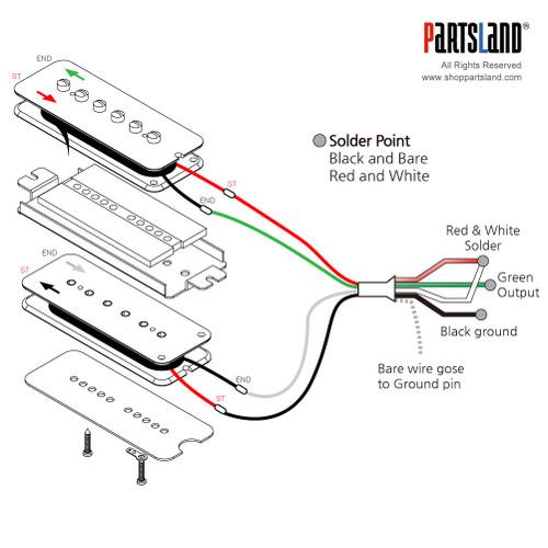 P90 Dog Ear Stack Pickup / Alnico 5