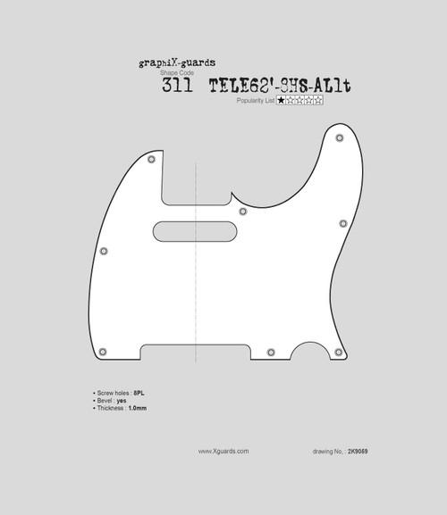 Tele 62' 8 Holes AL1t X311