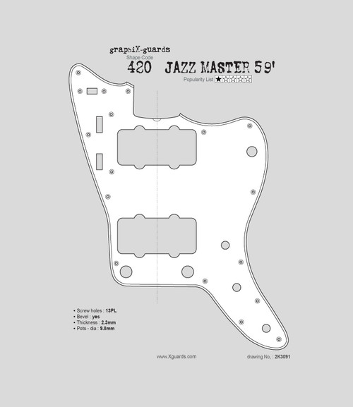 Jazz Master 59' 13 Holes X420
