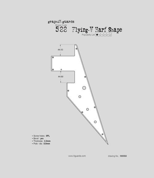 Flying-V Half Shape X522