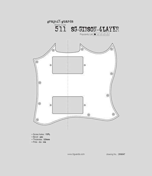 SG-Gibson 4Layer X511