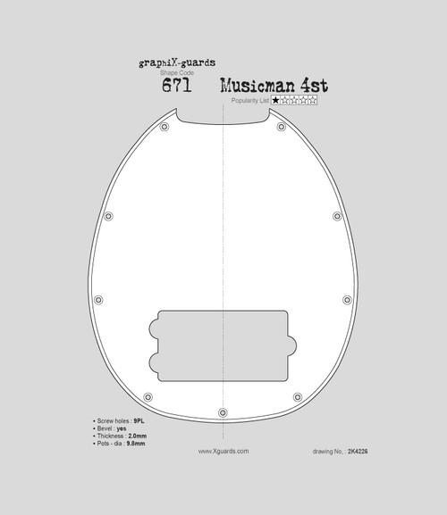 Musicman 4st X671