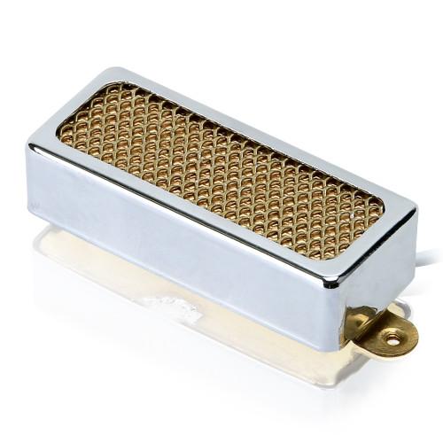 Gold Foil Mini Humbucker Pickup / Alnico 5