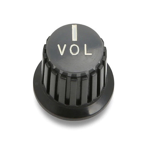 Acoustic VOL Text Knob