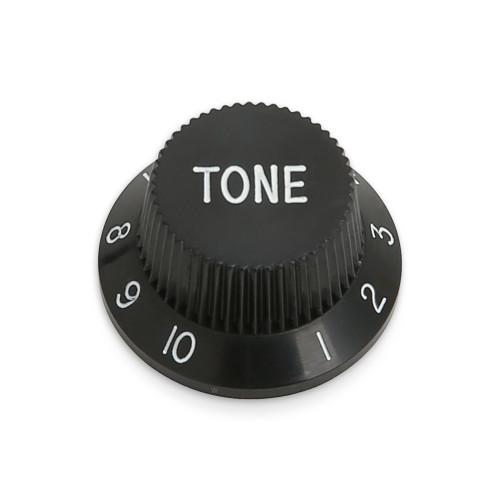 Plastic Strat Knob / TONE text