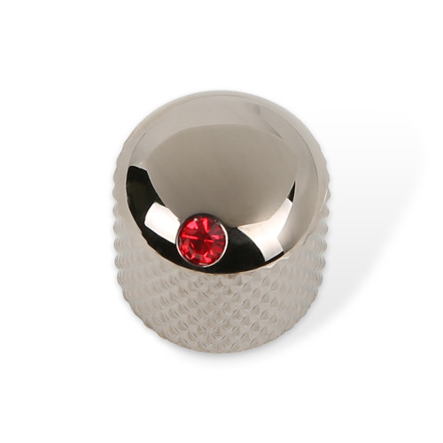Cubic Dome Knob with Red Indicate