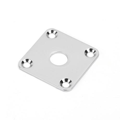 Les Paul Style Flat Metal Jack Plate