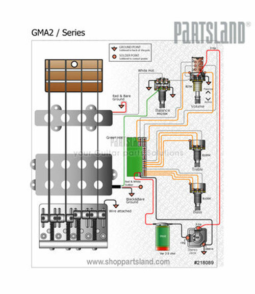 2 Band Active Preamp
