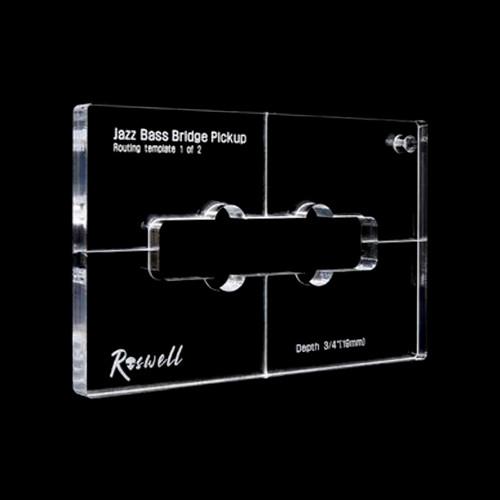 Pickup Routing Template - Jazz Bass Bridge