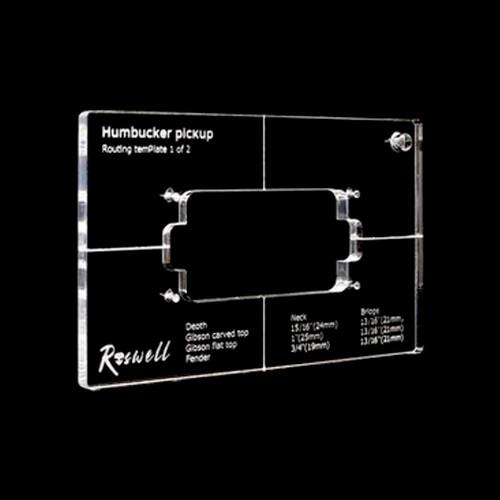 Pickup Routing Template - Humbucker