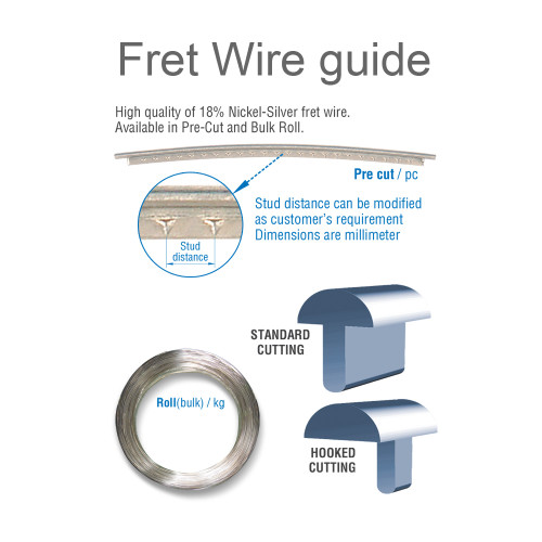 Fret Wires / 500MM